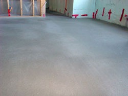 Concrete work completed for residential construction in Hamilton